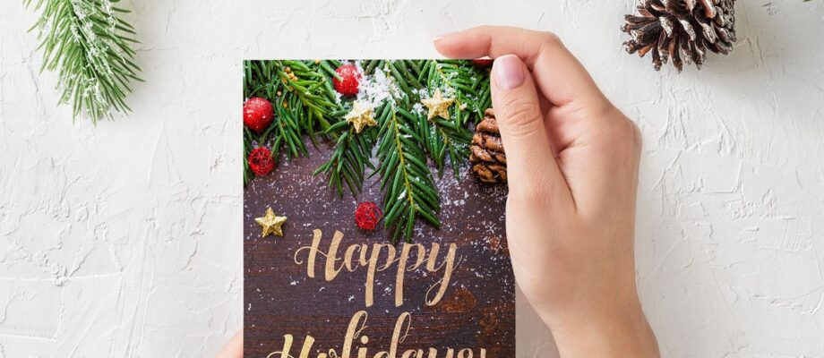 Personalised Christmas Cards 2020. 5 Expert Tips To Perfect Your Festive Greeting